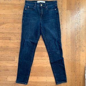 gap true skinny high rise jeans - 27s